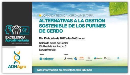 13/07/2017- Jornada en Lorca (Murcia) de la Fundación Cajamar.